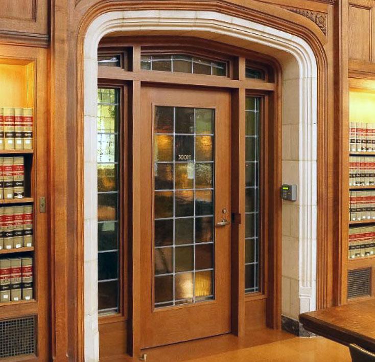 Library Door & Commercial Wood Doors @ Daiek Woodworks
