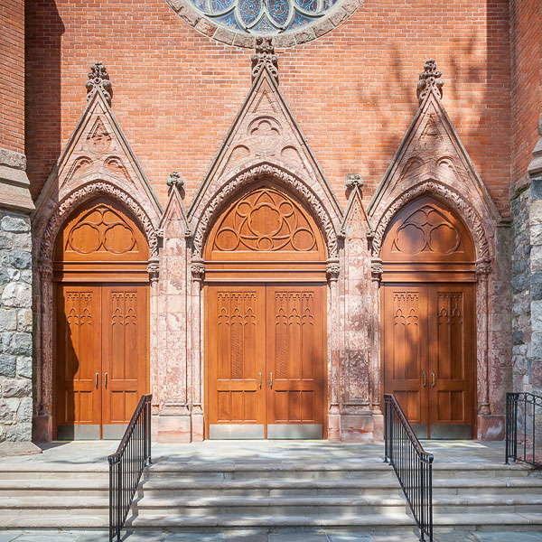 Historic Church Front Doors & Historic Reproductions @ Daiek Woodworks
